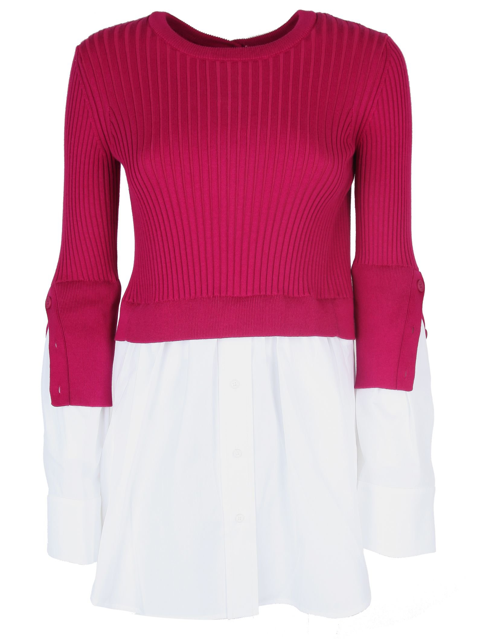 Kenzo Layered Knitted Blouse