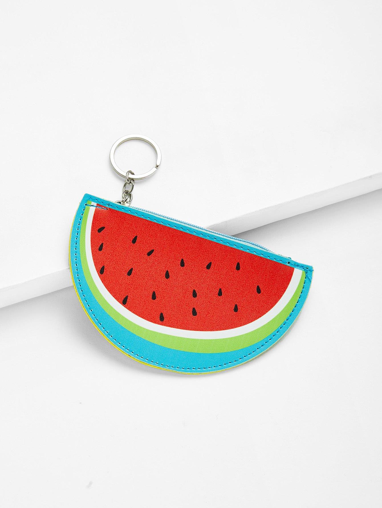 Watermelon Shaped Coin Purse