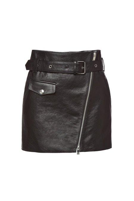 Sonia Rykiel - Leather Mini Skirt - Soldes!