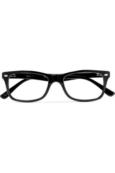 Ray-Ban | Square-frame acetate optical glasses | NET-A-PORTER.COM