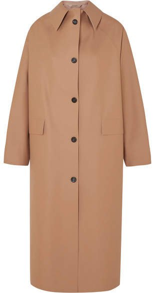 Kassl Editions - Faux Leather Coat