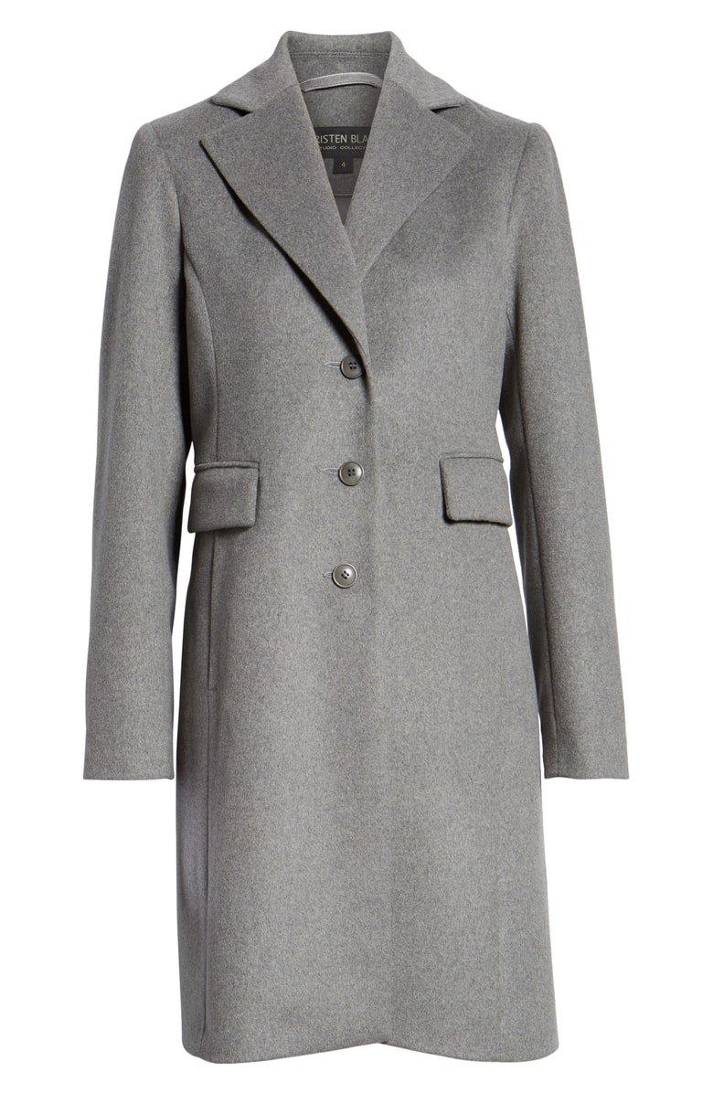 Kristen Blake Walking Coat (Regular & Petite) | Nordstrom