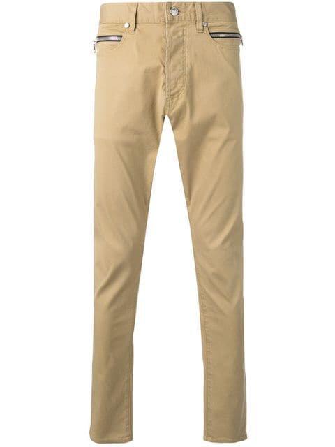 Balmain slim fit trousers