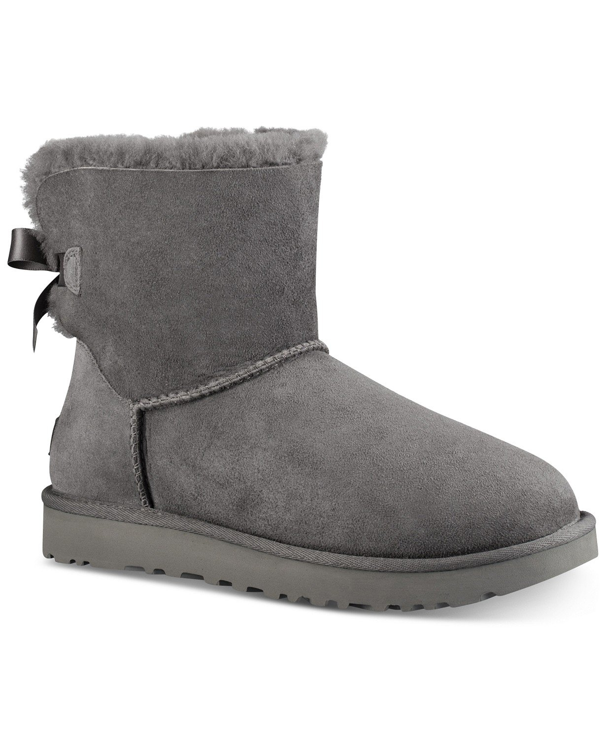 UGG® Women's Mini Bailey Bow II Boots & Reviews - Boots - Shoes - Macy's