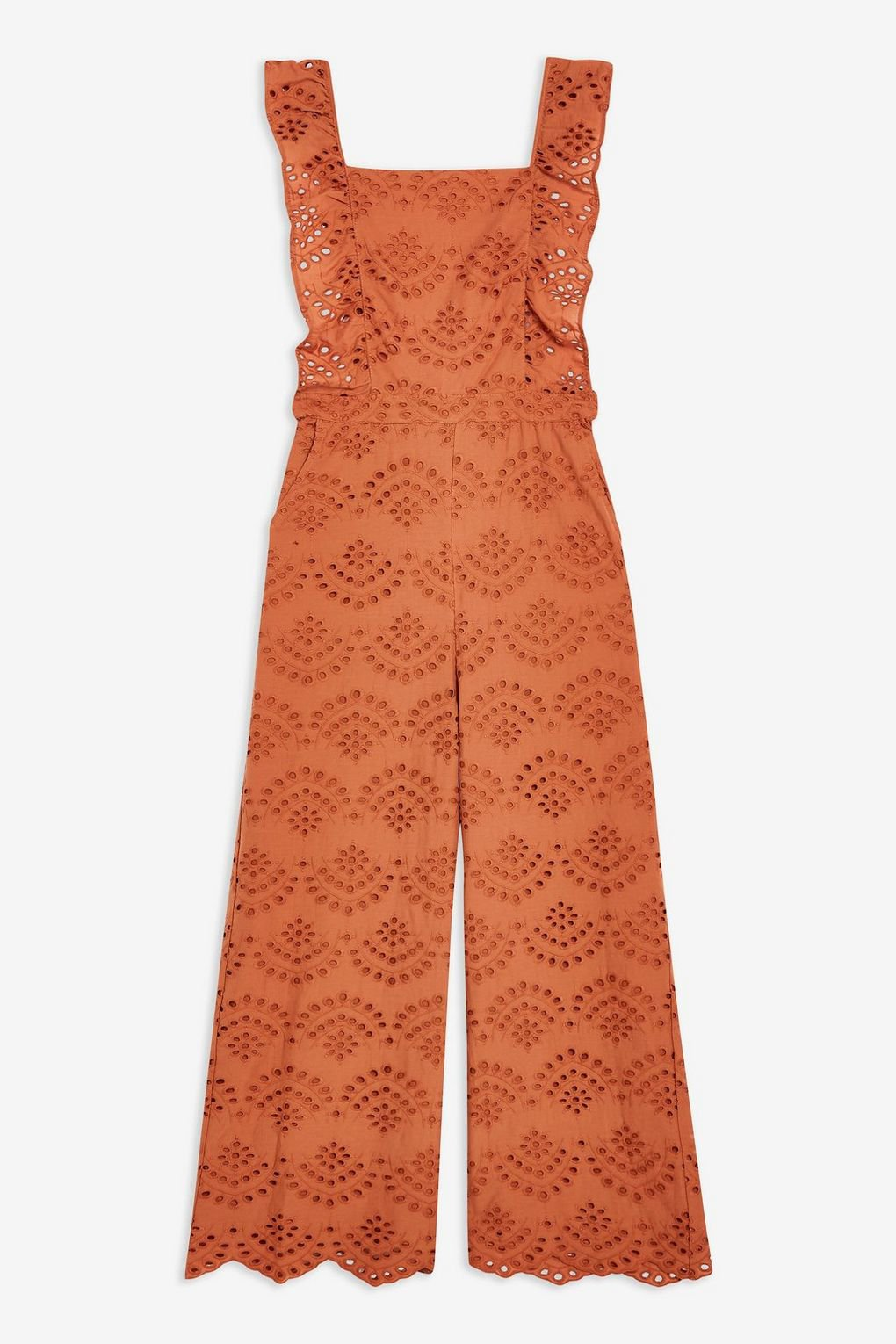 Broderie Jumpsuit - Rompers & Jumpsuits - Clothing - Topshop USA