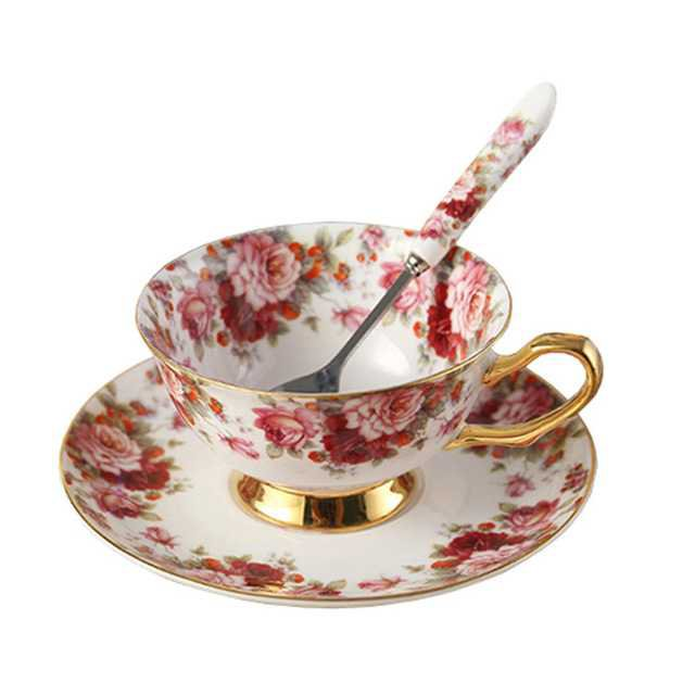red flower tea cup - Google Search