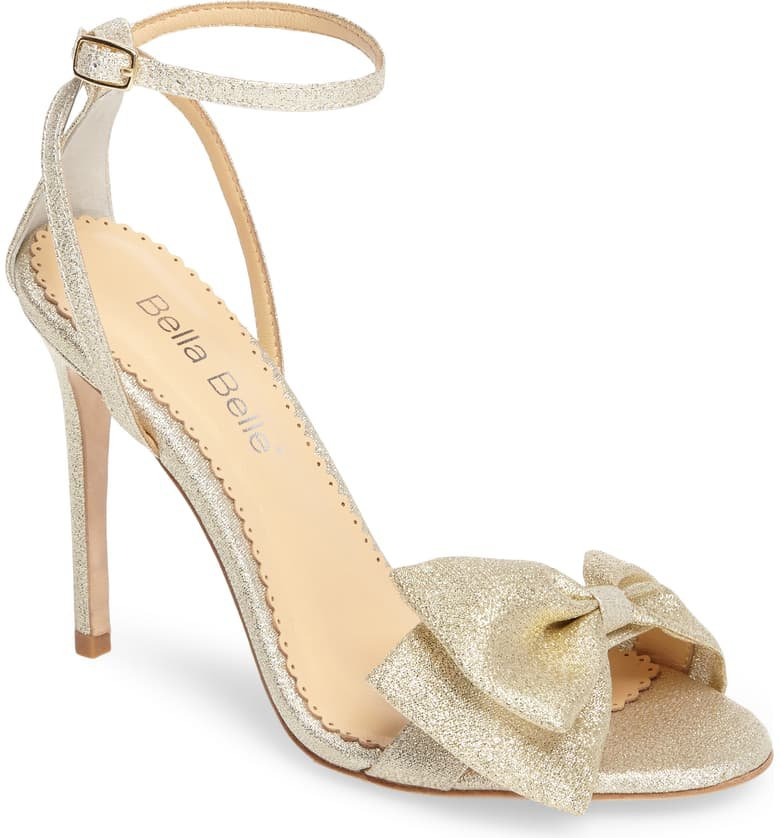 Bella Belle Aubrey Bow Ankle Strap Sandal (Women)   Nordstrom