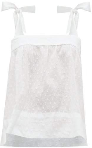 Wiggy Kit - Pretty Fil Coupe Cotton Cami Top - Womens - White