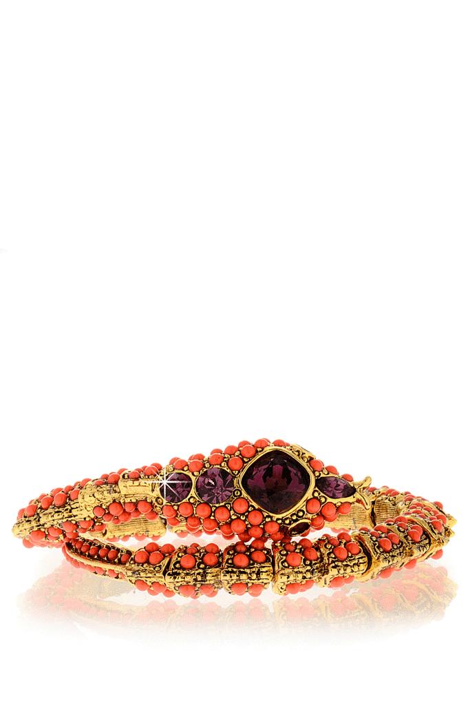 KENNETH JAY LANE ROYAL Coral Snake Bracelet – PRET-A-BEAUTE.COM