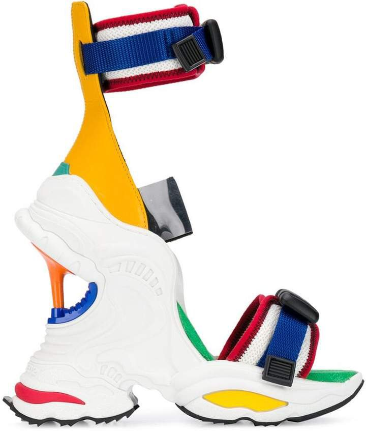 wedge heel sneaker sandals