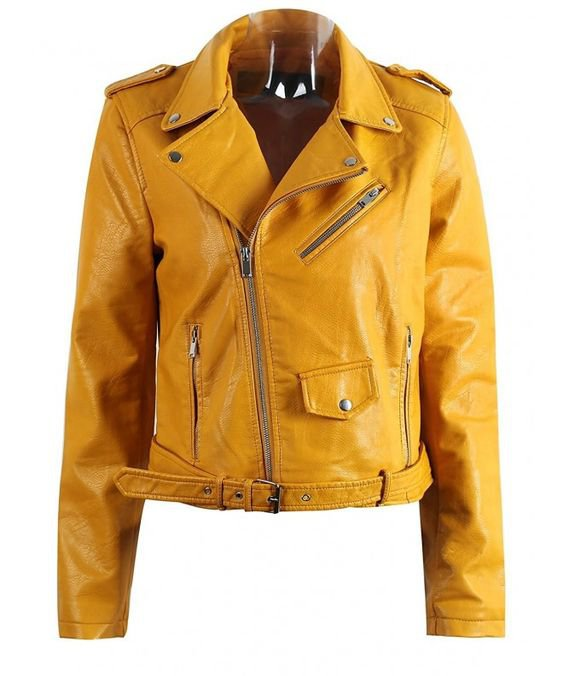 (18) Pinterest - Women's Winter Faux Leather Jackets Coat Pu Motorcycle Outwear Coats - Yellow - C81856E55DG,Women's Clothing, | Women's Coats, Jackets & Vests