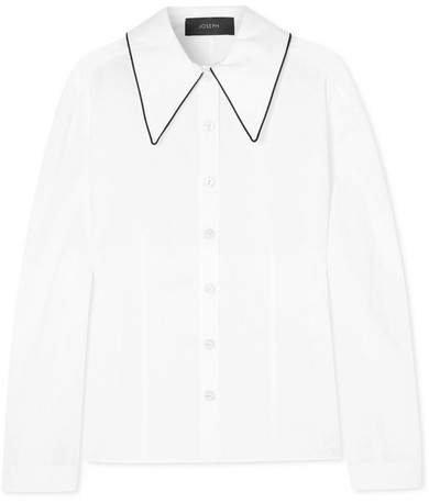 Ruben Cotton-poplin Shirt - White