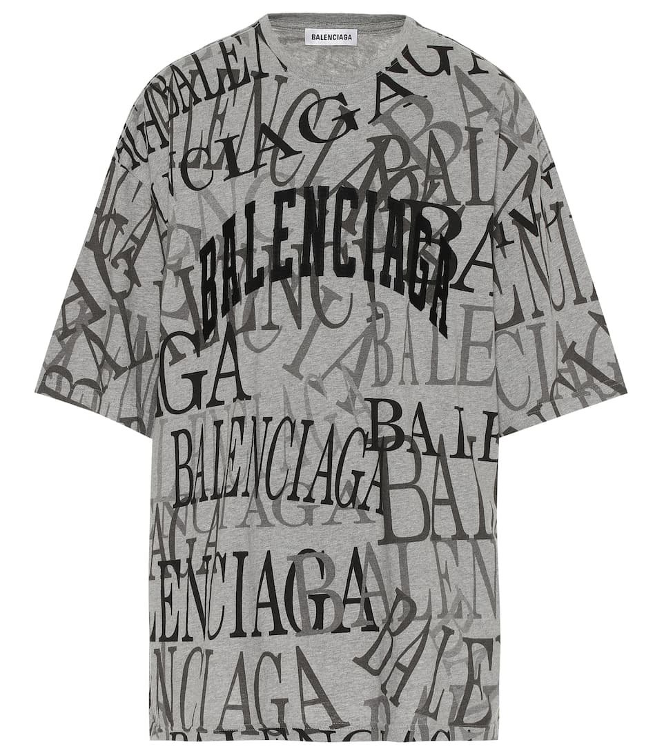 Logo Cotton T-Shirt - Balenciaga   Mytheresa