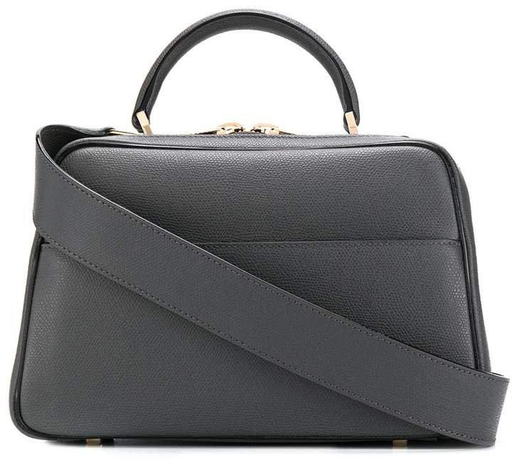 top handle box tote bag