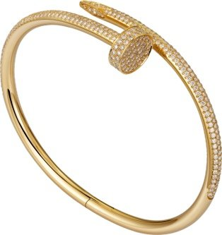 CRN6709817 - Bracelet Juste un Clou - Or jaune, diamants - Cartier