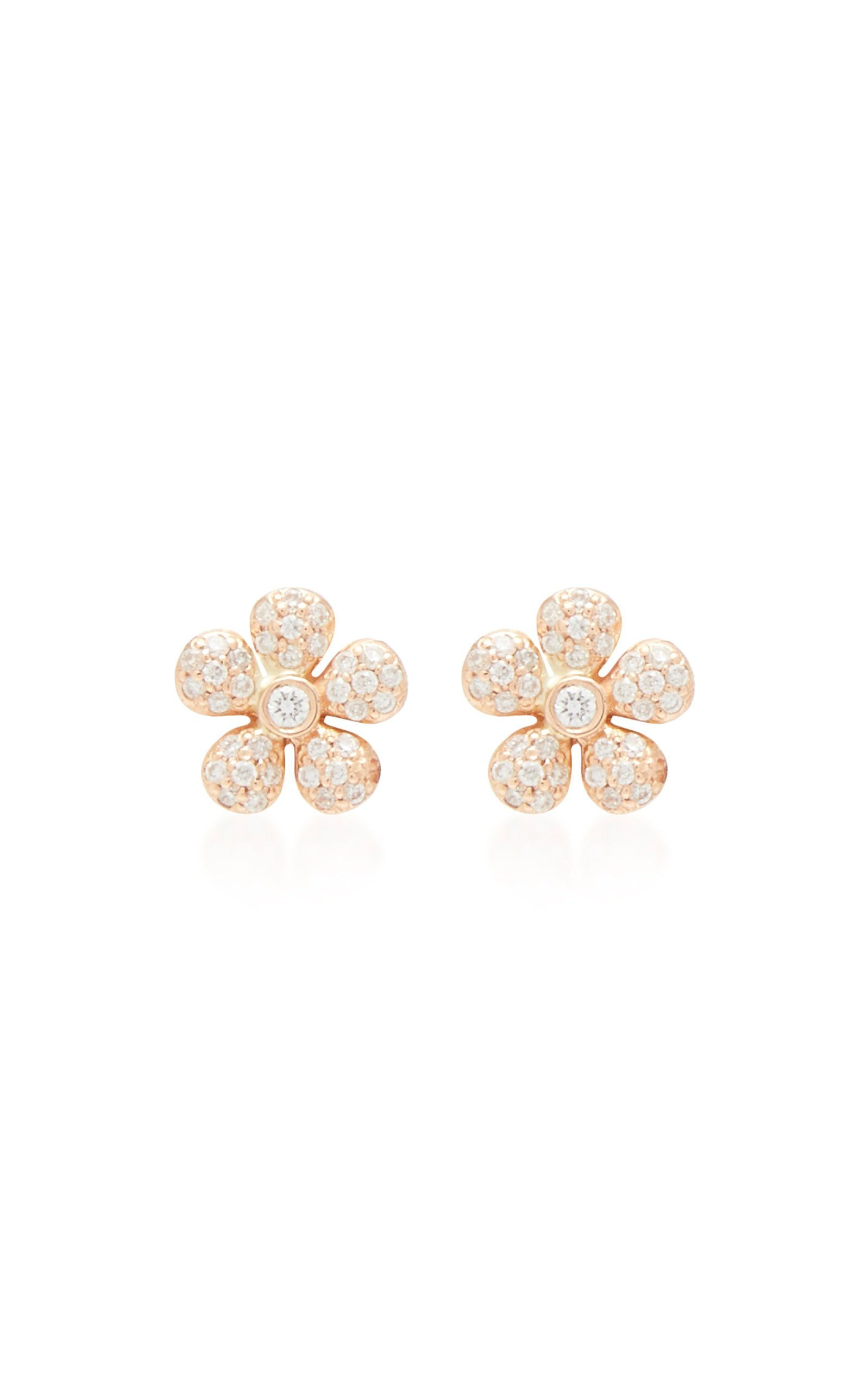 Colette Jewelry 18K Gold and Diamond Earrings