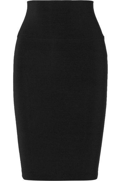 Norma Kamali | Stretch-jersey skirt | NET-A-PORTER.COM
