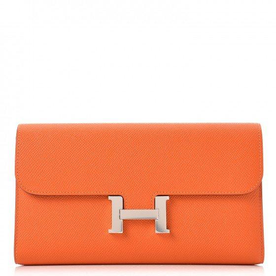 Orange Hermes Wallet