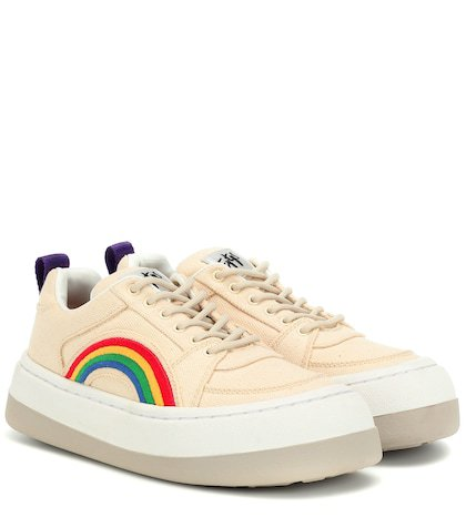 Sonic canvas sneakers