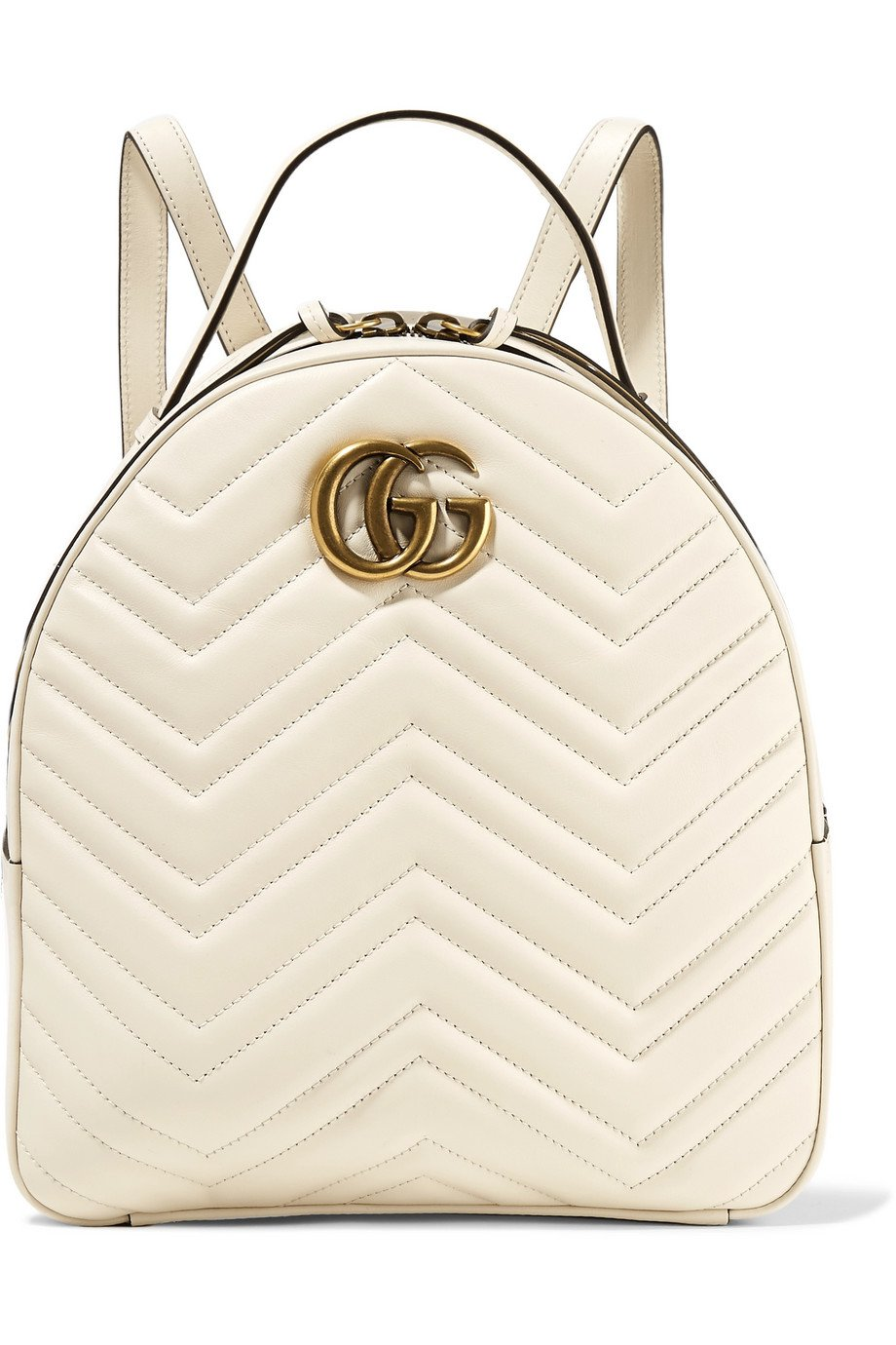Gucci | GG Marmont quilted leather backpack | NET-A-PORTER.COM