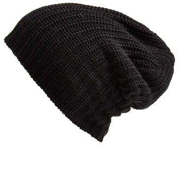 black beanie