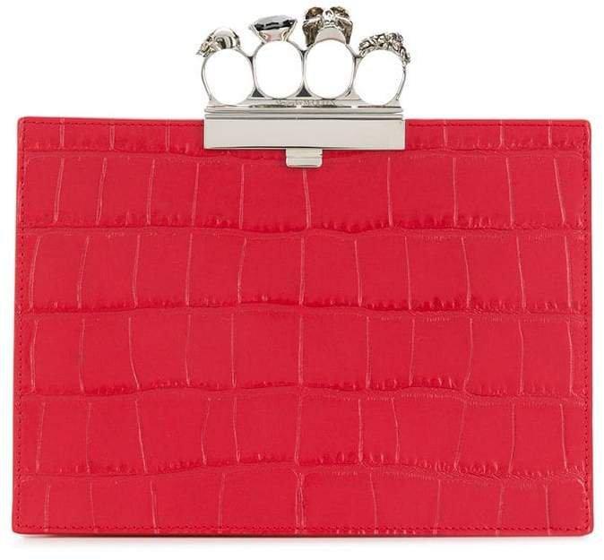 four-ring clutch bag