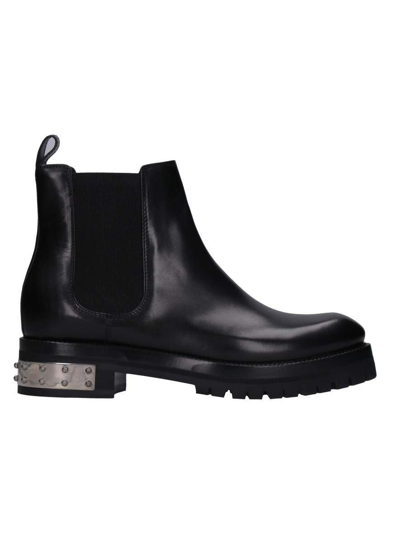 Alexander McQueen Studded Heels Leather Chelsea-boots
