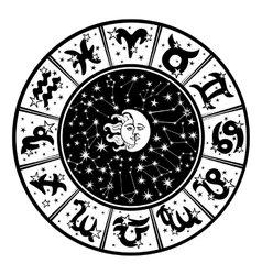 Scorpio zodiac sign Royalty Free Vector Image - VectorStock