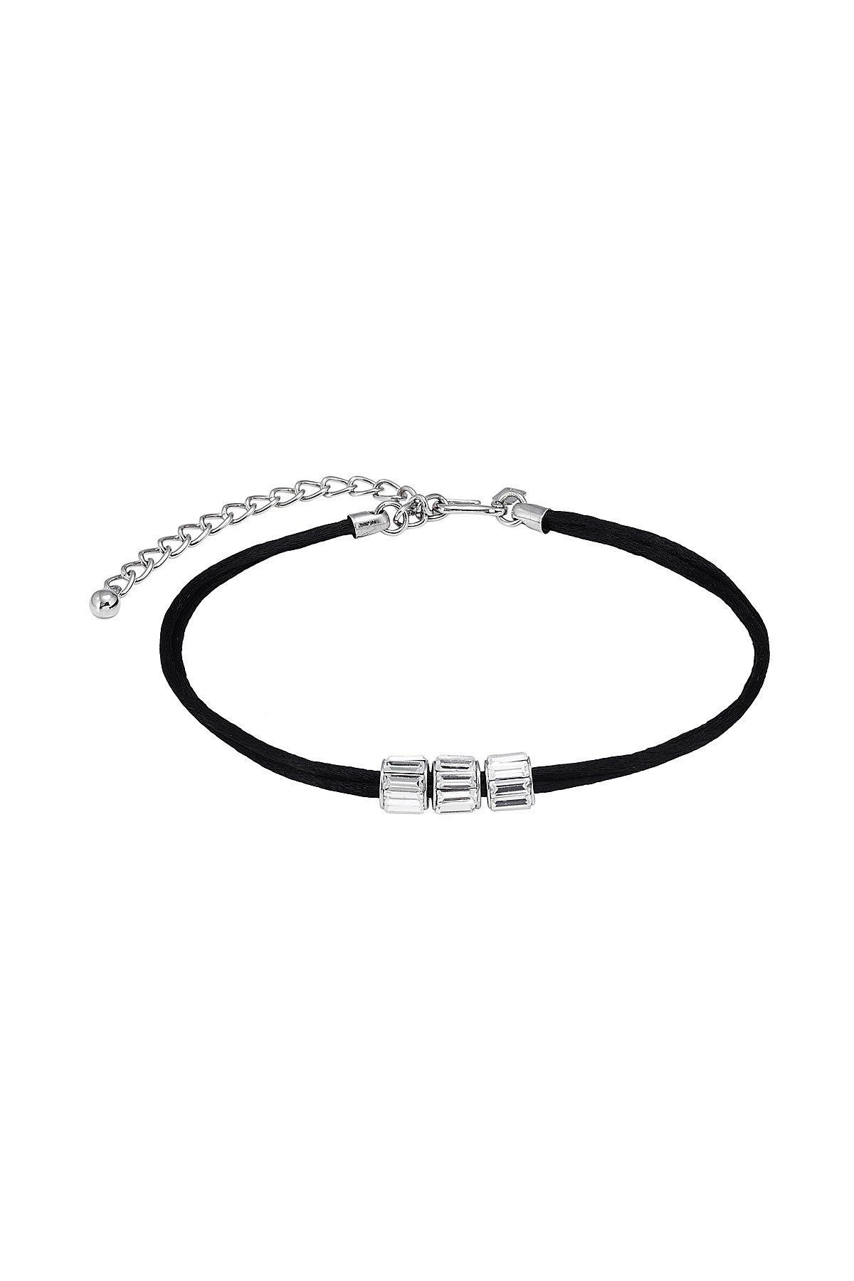 Embellished Choker Necklace Gr. One Size