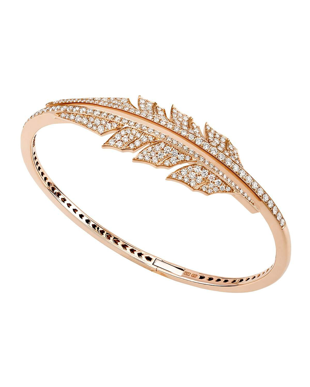 Stephen Webster Magnipheasant 18k Rose Gold Diamond Bracelet