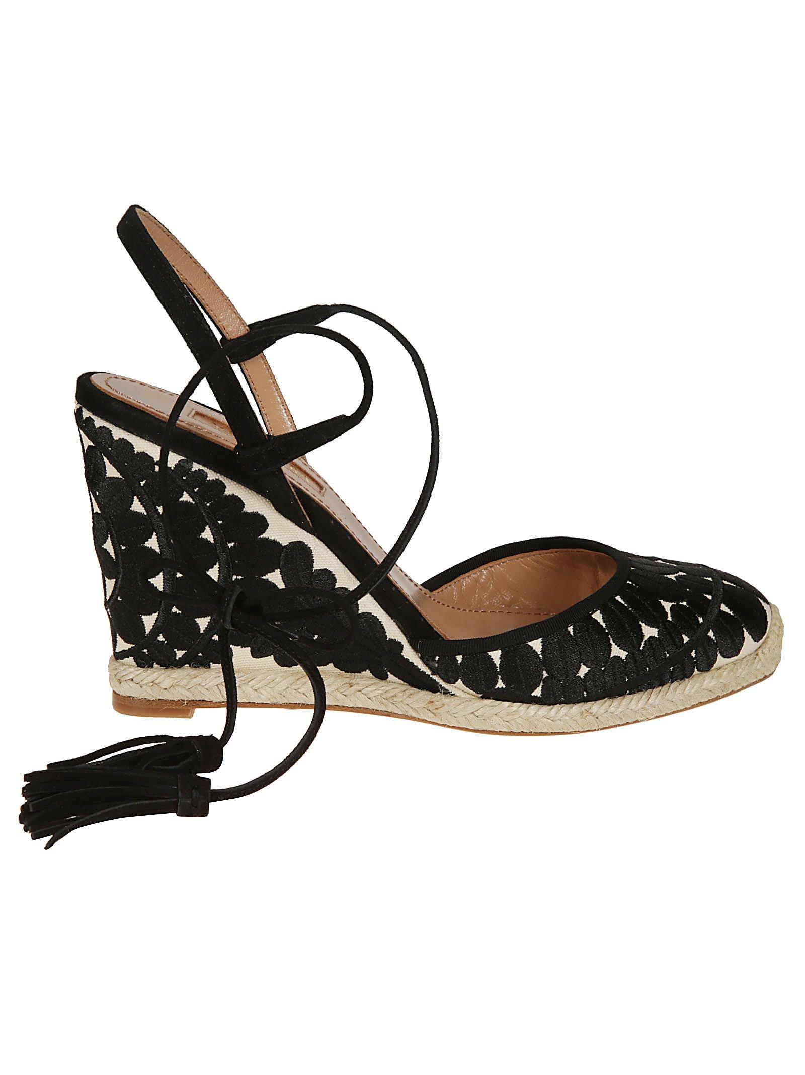Aquazzura Espadrilles Wedge Sandals