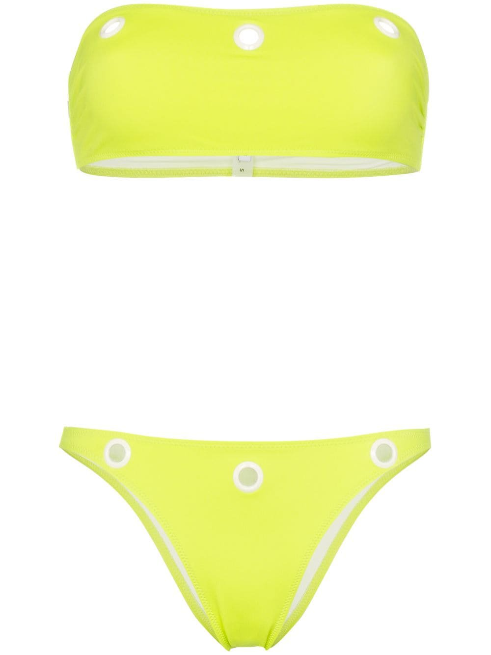 Solid & Striped Annabelle eyelet detail bikini $170 - Buy Online - Mobile Friendly, Fast Delivery, Price