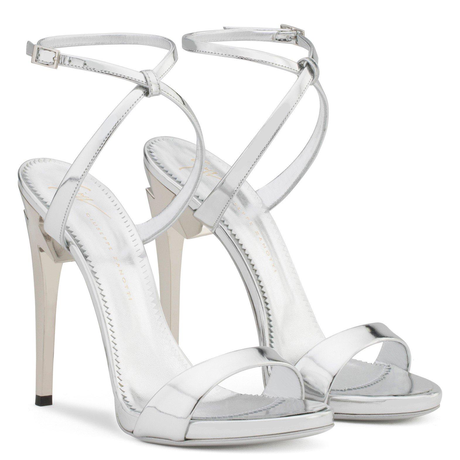 G-Heel - Sandals - Silver | Giuseppe Zanotti - US