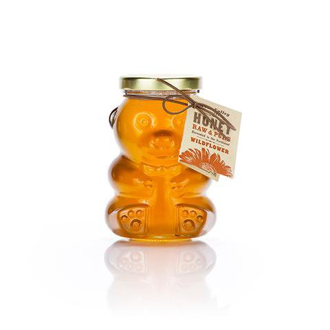 Glass Honey Bear