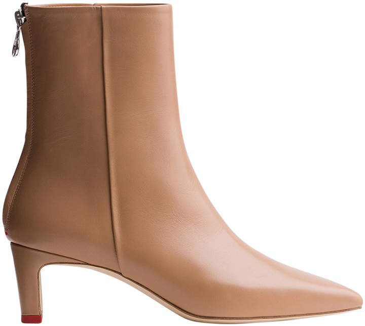Aeyde Ivy Leather Ankle Boots