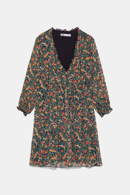 FLORAL PRINT DRESS - View all-DRESSES-WOMAN   ZARA United States