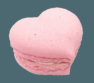 heart macaroon