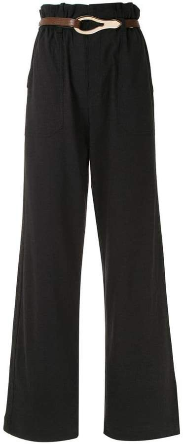 Calça Pantalona Linen Framed