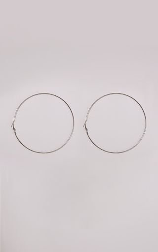 Silver Large Hoop Earrings. Accessories | PrettyLittleThing
