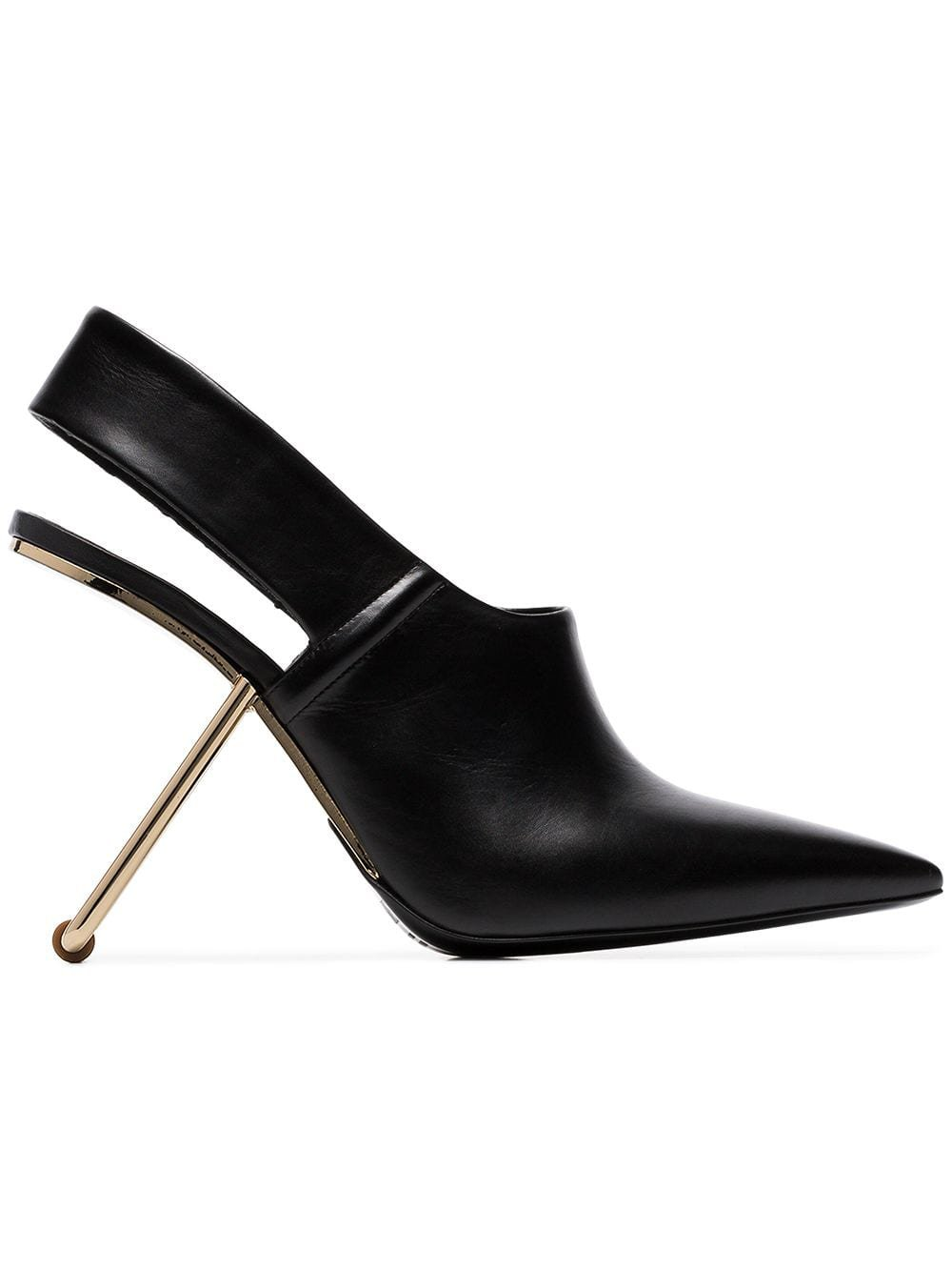 Poiret black 100 slingback cut out heel pumps $1,460 - Buy Online SS19 - Quick Shipping, Price