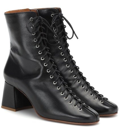 Becca leather ankle boots