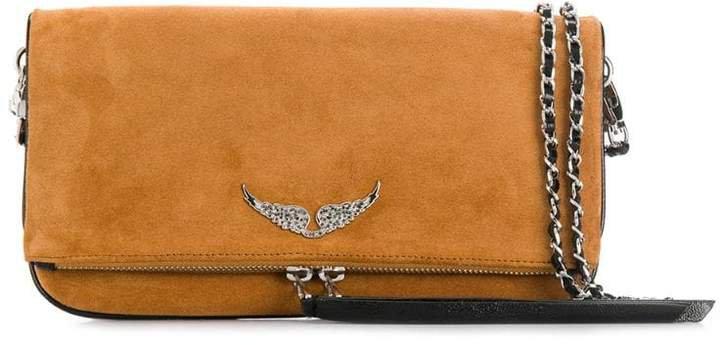 Zadig&Voltaire Patent clutch bag