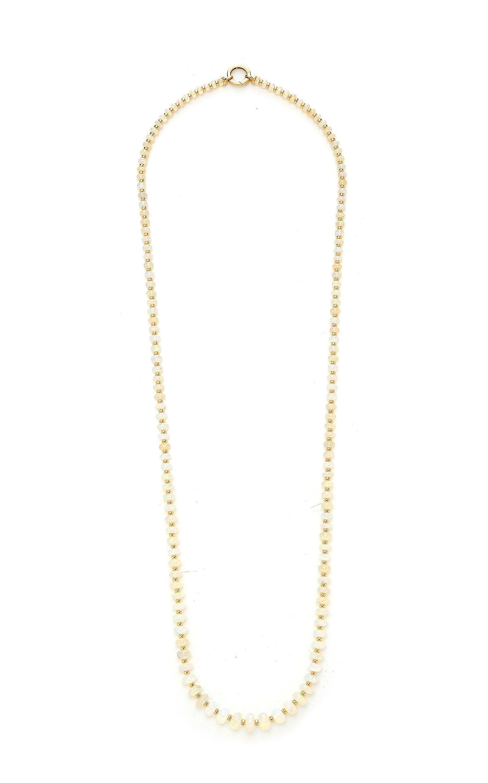 Goshwara BEYOND 1 strand Opal Beads Necklace