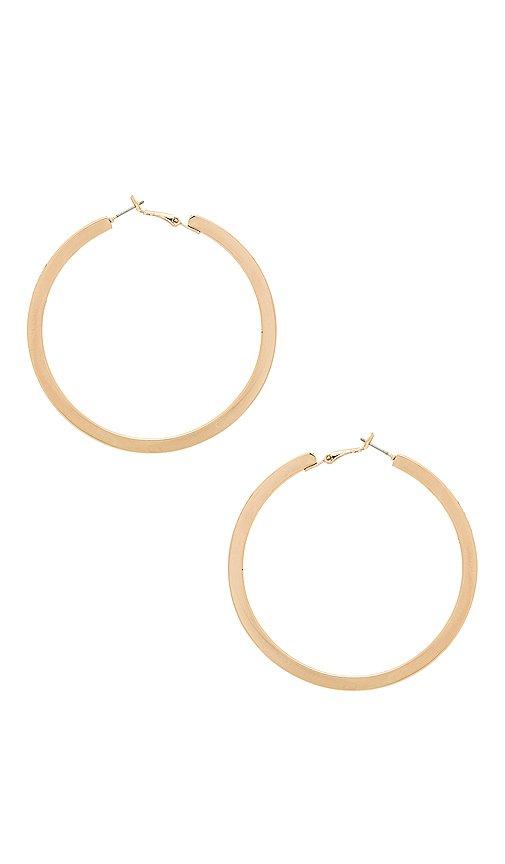 Ettika Classic Hoops in Gold | REVOLVE
