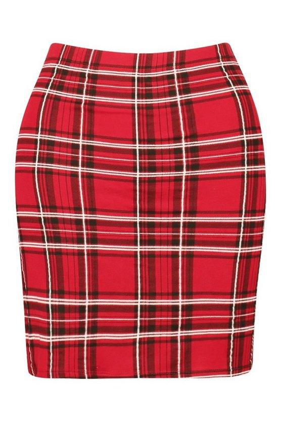 Tartan Check Mini Skirt | Boohoo