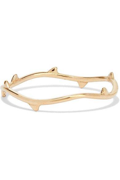 SARAH & SEBASTIAN | Thorn gold ring | NET-A-PORTER.COM