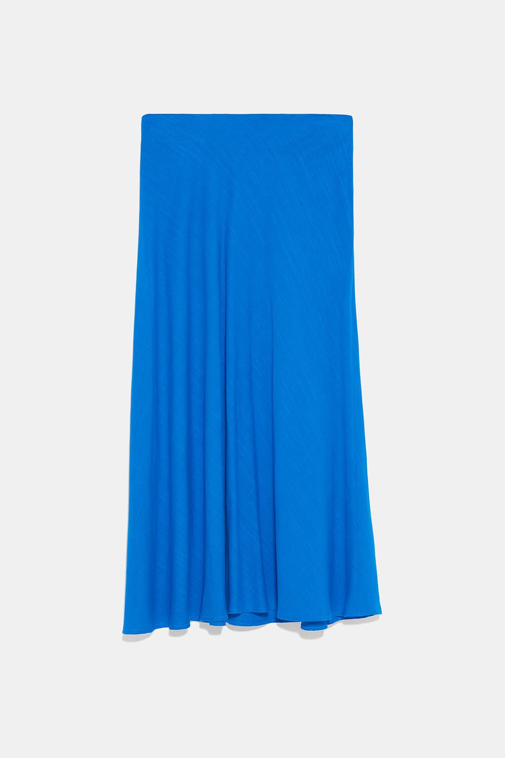 RUSTIC SKIRT - View All-SKIRTS-WOMAN   ZARA United States blue