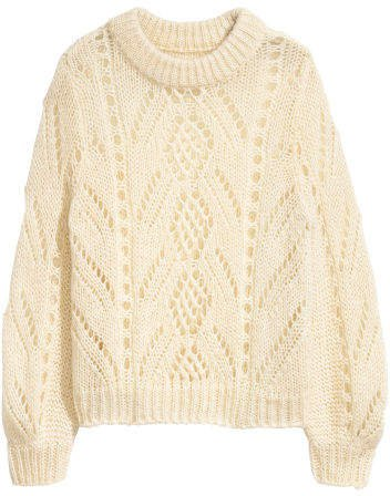 Knit Sweater - Beige