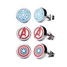 marvel earings - Google Search