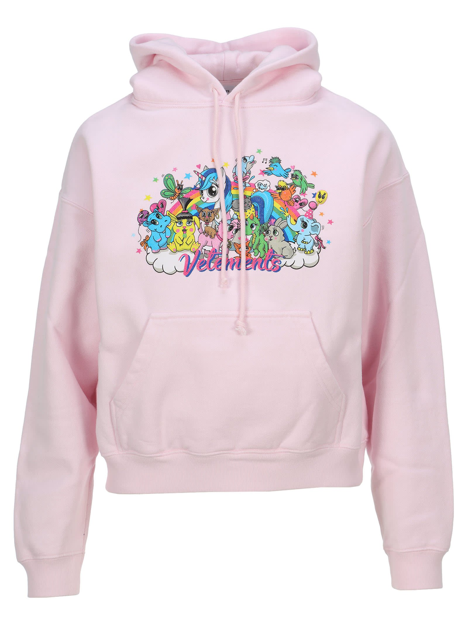 Vetements Cartoons Print Hoodie